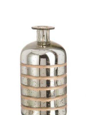 Fles zilver/goud