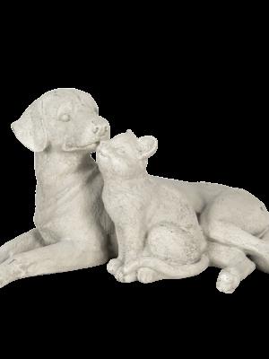 Kat en hond (46x27x25cm) 64,95€
