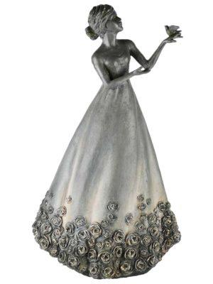 Dame bloemenjurk (30x19x50cm)